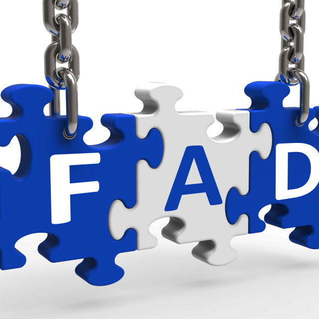 """""""Fad Puzzle Shows Latest Thing Or Craze"""" stock image"""