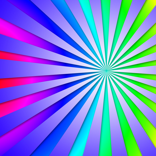 """""""Colourful Dizzy Striped Tunnel Background Means Dizzy Abstraction Perspective."""" stock image"""