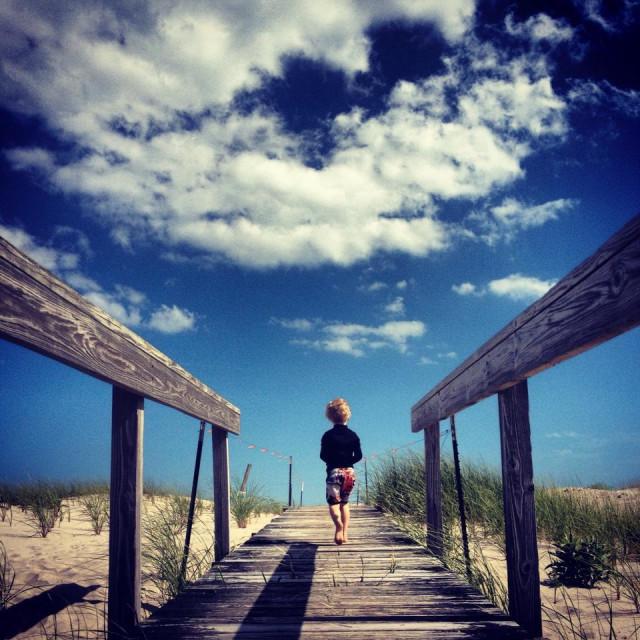 """Hamptons, beach"" stock image"
