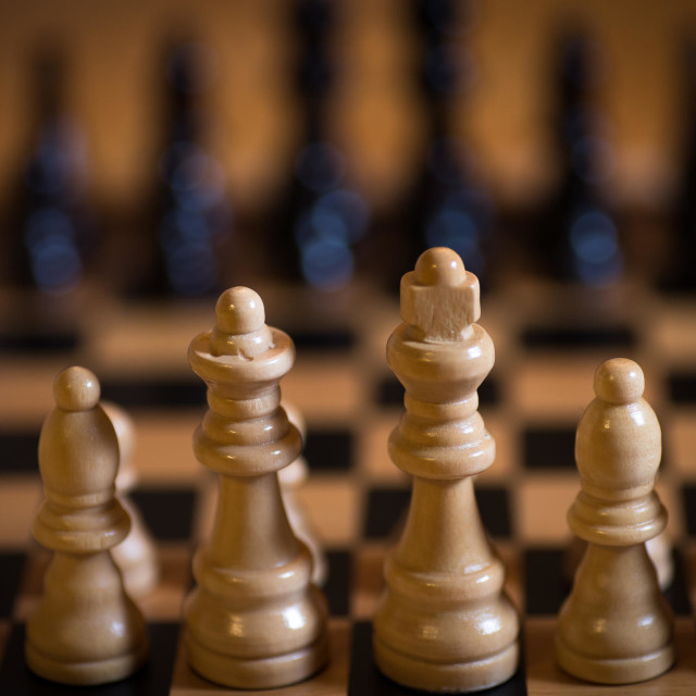 """Board of chess"" stock image"
