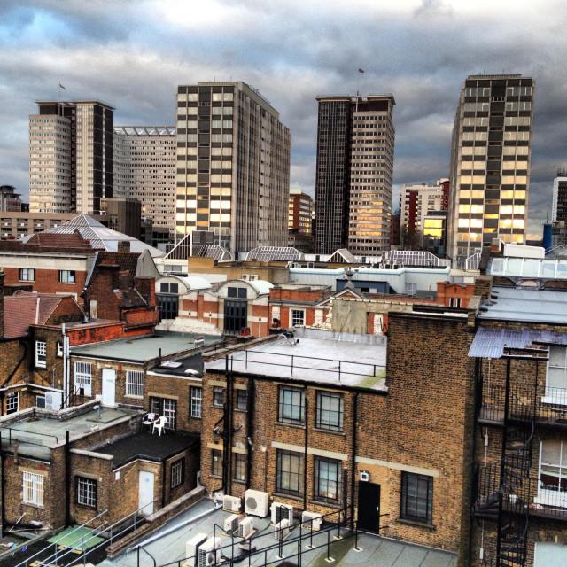 """Croydon City scape"" stock image"