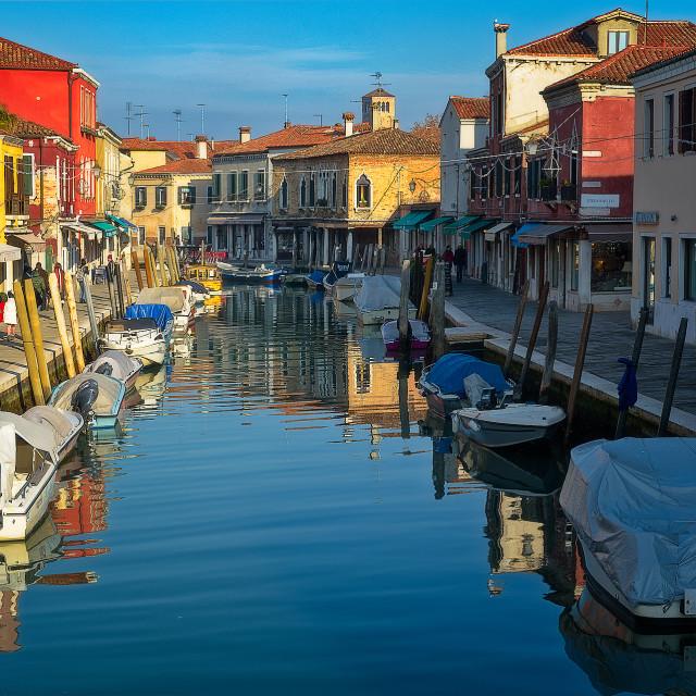 """""""Isola di Murano"""" stock image"""