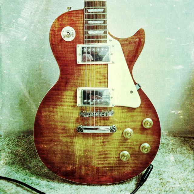 """Electric guitar."" stock image"