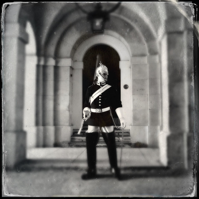 """Horse Guards Parade, London"" stock image"