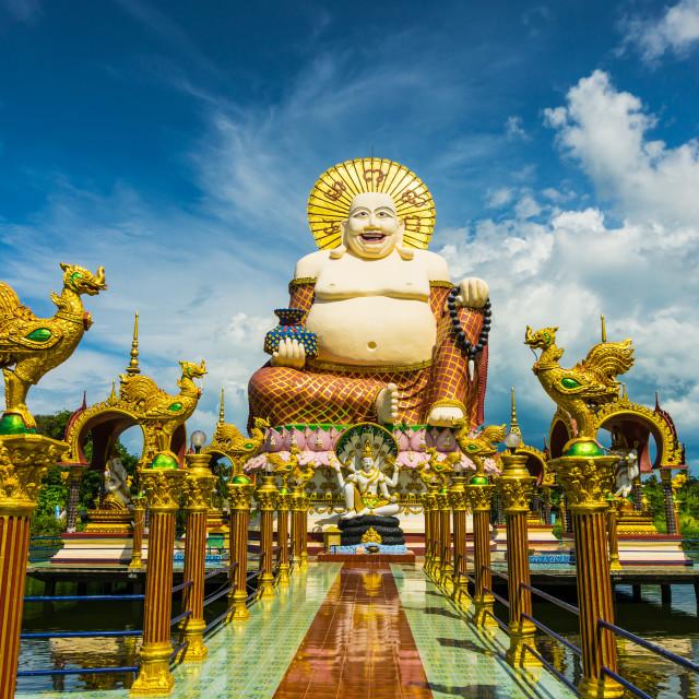 """""""Koh Samui Big Buddha"""" stock image"""