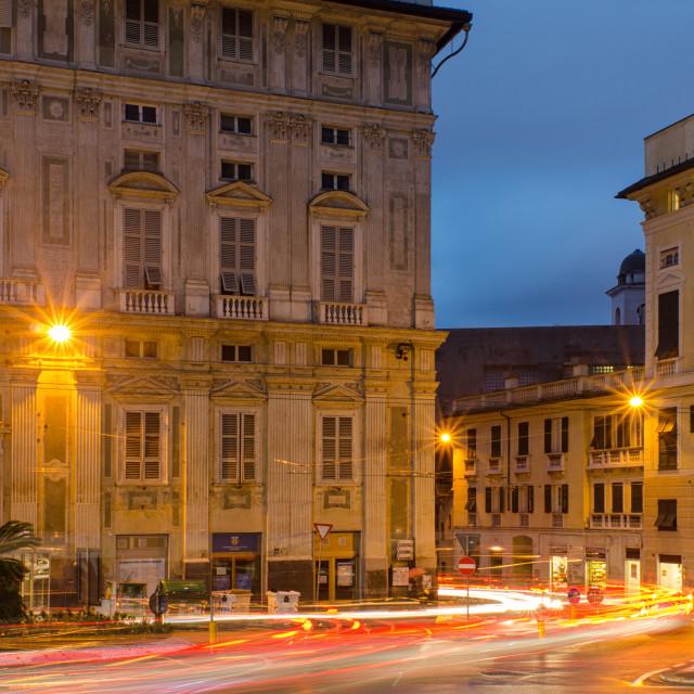 """""""Piazza Della Nunziata"""" stock image"""