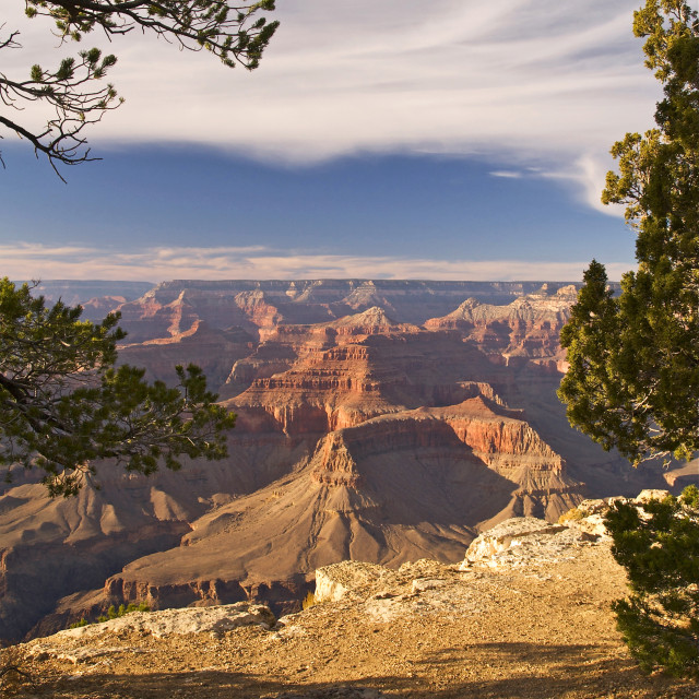 """Grand Canyon at Hopi Point"" stock image"