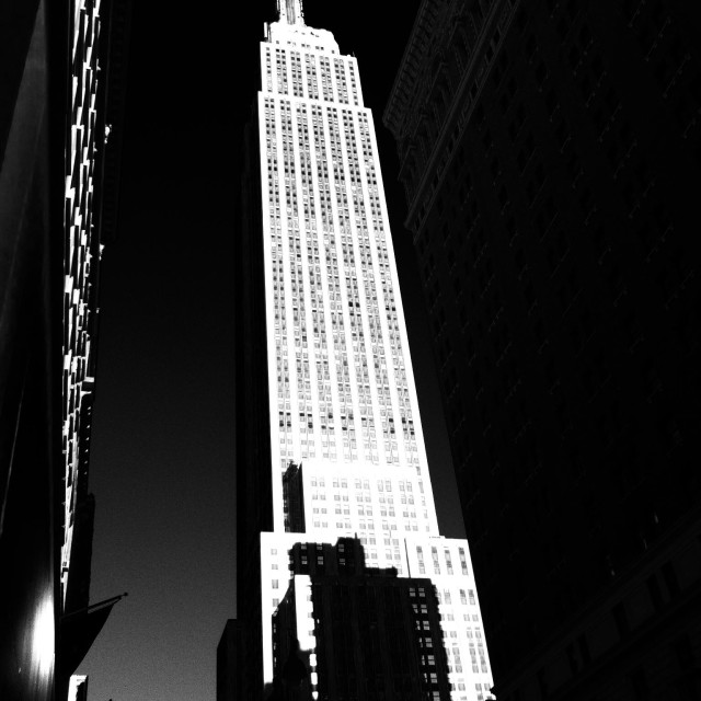 """""""Empire State Building, New York"""" stock image"""