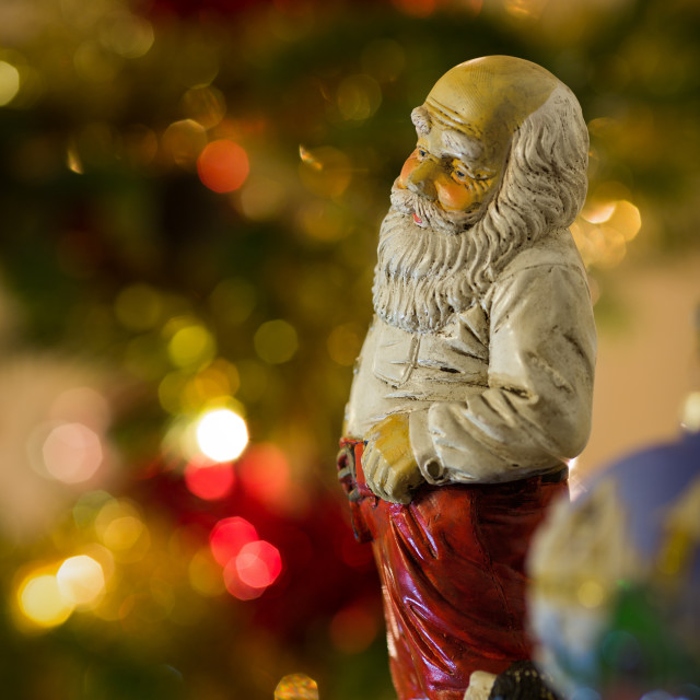 """Father Christmas Figure"" stock image"