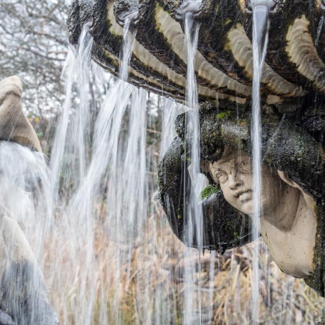 """Italian Fountain"" stock image"