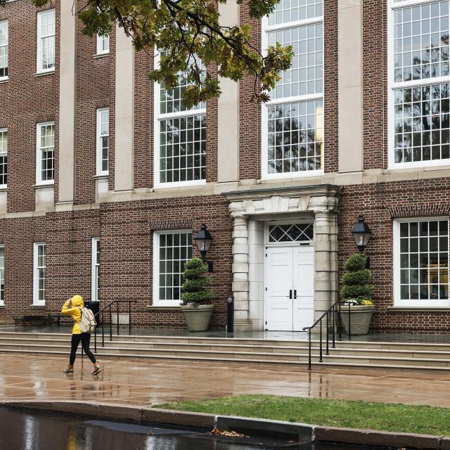 """Kunkel Hall, Franklin and Marshall campus, Lancaster, Pennsylvania, USA"" stock image"