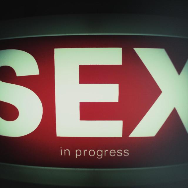 """Sex"" stock image"