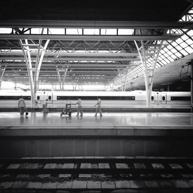 """""""Suzhou HSR station"""" stock image"""