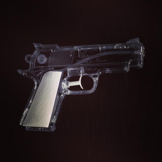 """Water pistol toy"" stock image"