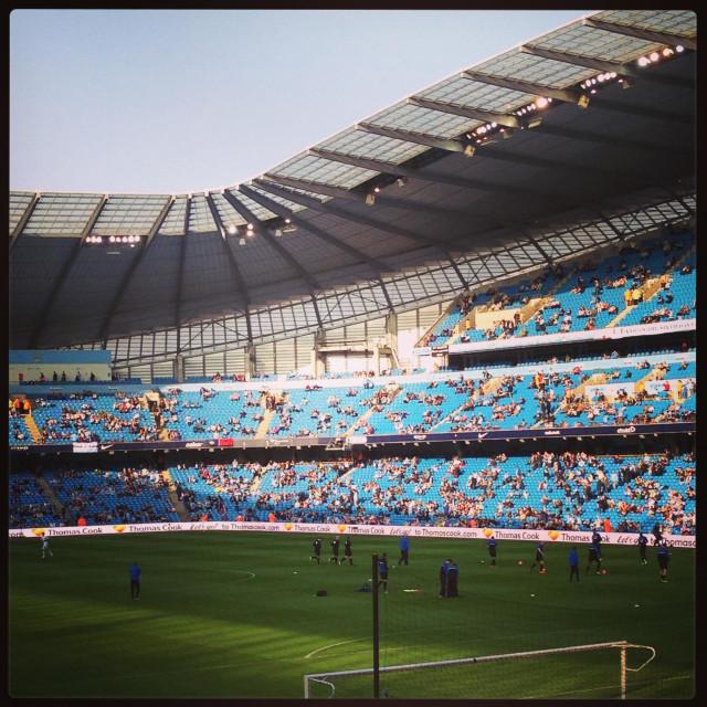 """""""The sun on the stadium"""" stock image"""