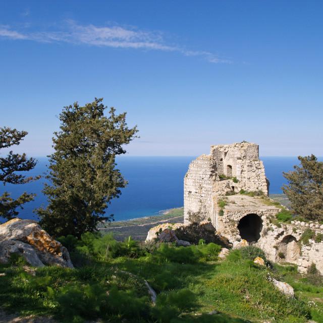 """Kantara Castle"" stock image"