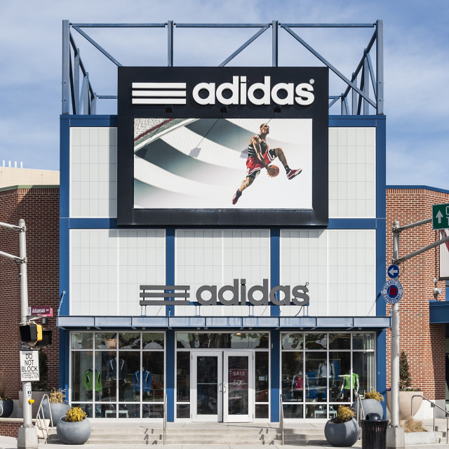 buy online be85f a11dc Adidas Factory store outlet, Atlantic City, New Jersey, USA - License,  download or print for £12.40   Photos   Picfair