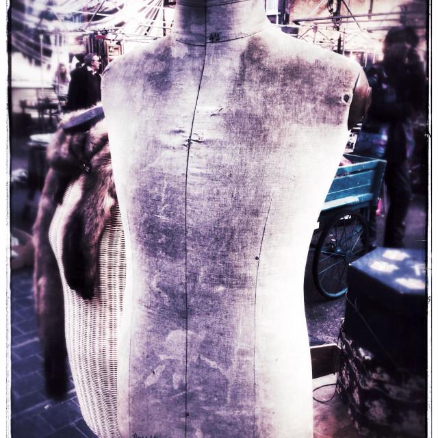 """Mannequin torso"" stock image"