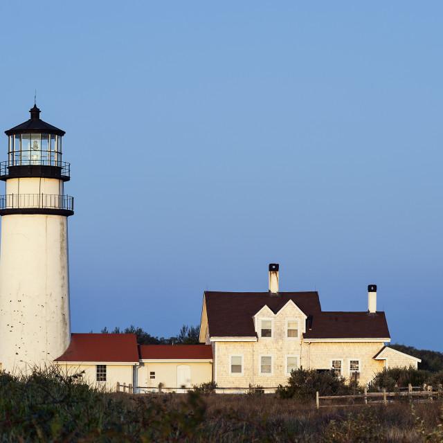 """""""Cape Cod Light, Truro, Cape Cod, Massachusetts, USA"""" stock image"""