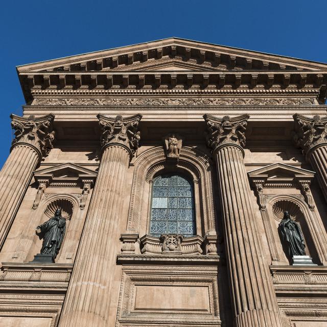 """Cathedral Basilica of SS. Peter and Paul, Philadelphia, Pennsylvania, USA"" stock image"