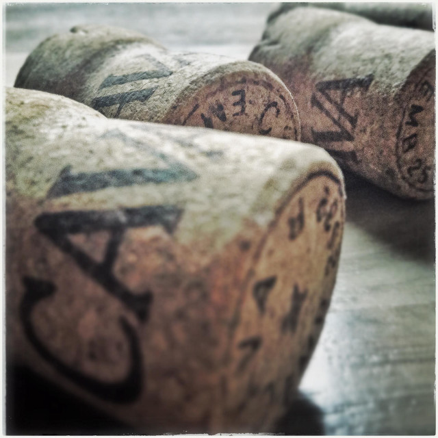 """Catalan cava cork"" stock image"