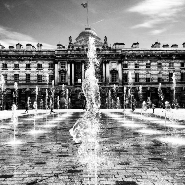 """Somerset House, London"" stock image"