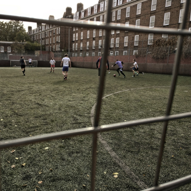"""Football pitch"" stock image"