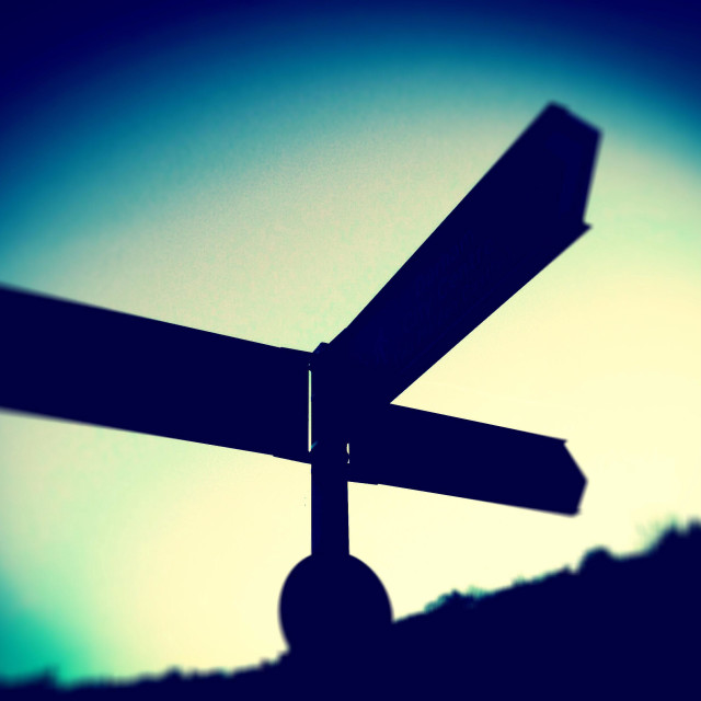 """Signpost"" stock image"