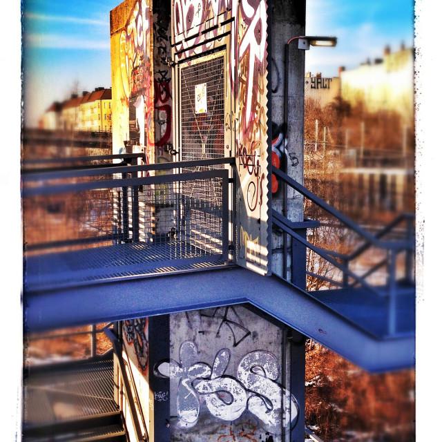 """Berlin Graffity"" stock image"