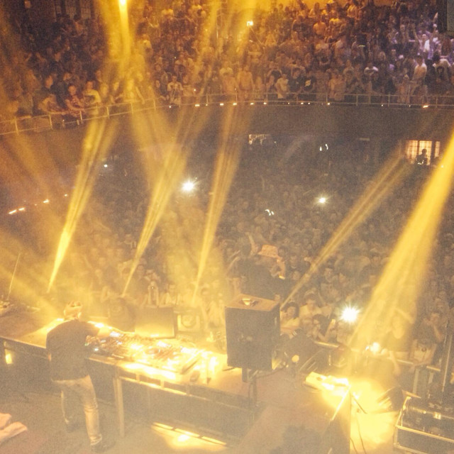 """Chase and Status Manchester Albert hall, April 5th 2014"" stock image"