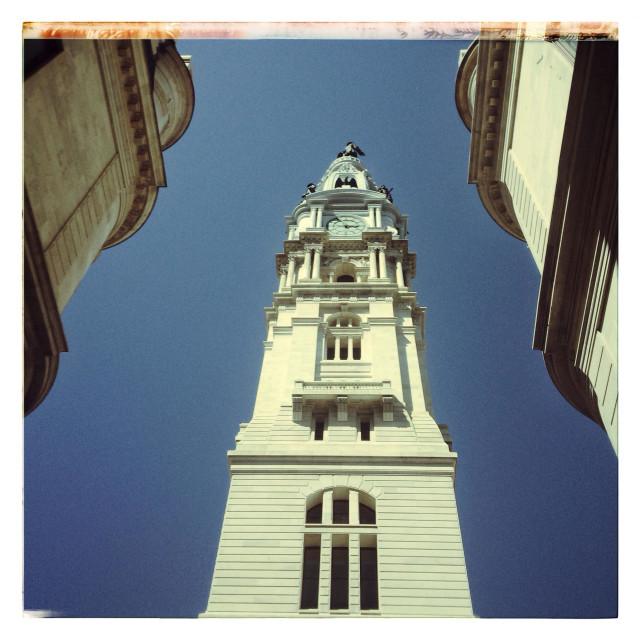 """City Hall Philadelphia PA"" stock image"