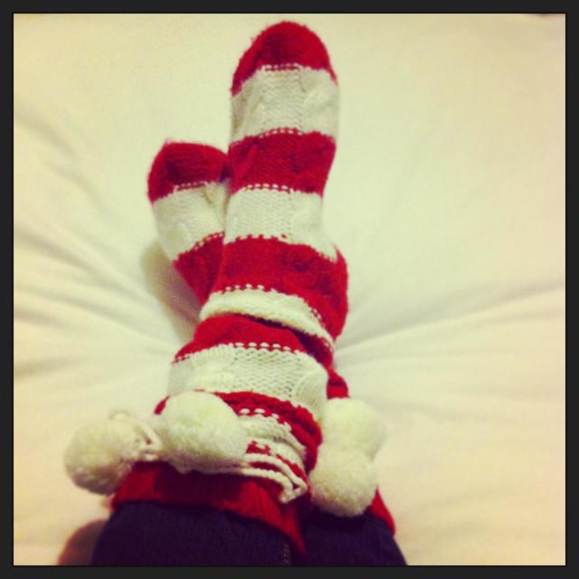 """""""Stripy socks"""" stock image"""