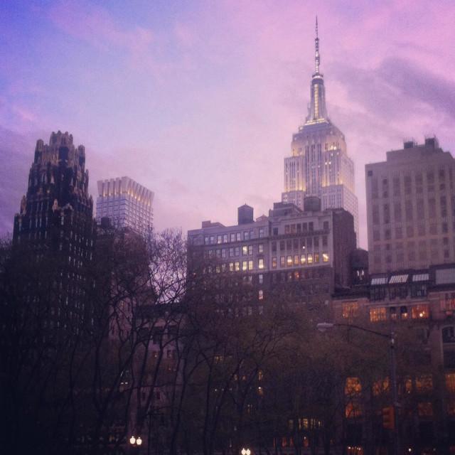 """Bryant Square, NYC"" stock image"