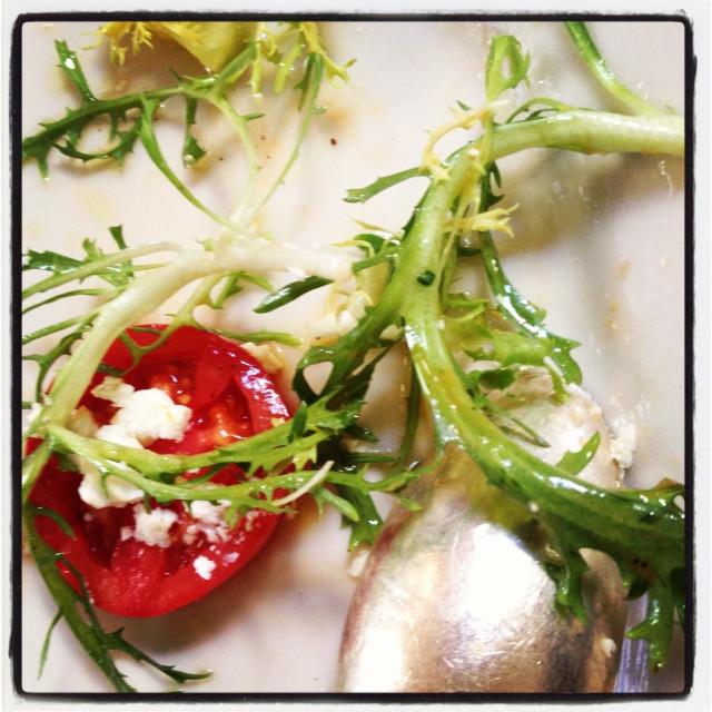 """Tomato mozzarella salad"" stock image"
