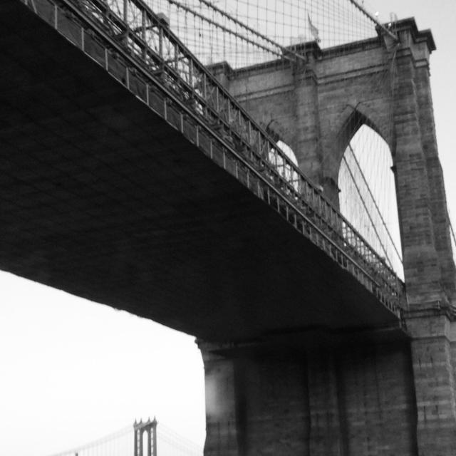 """East river bridges"" stock image"