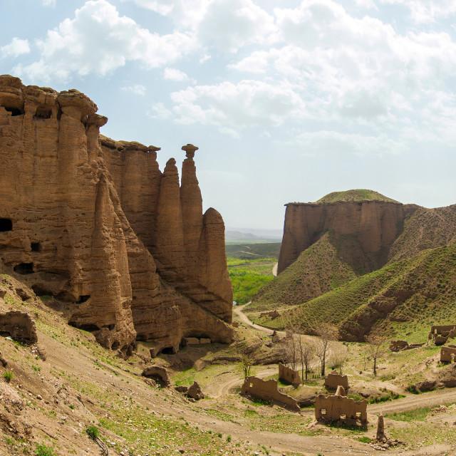 """Bahestan Castel"" stock image"