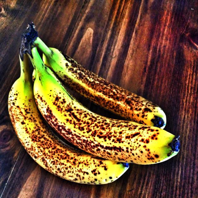 """Banana Freckles"" stock image"