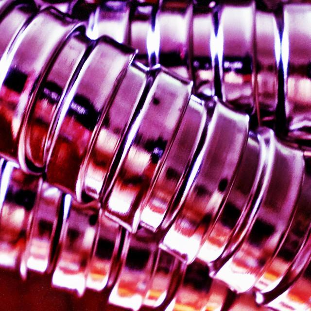 """Purple Hose"" stock image"