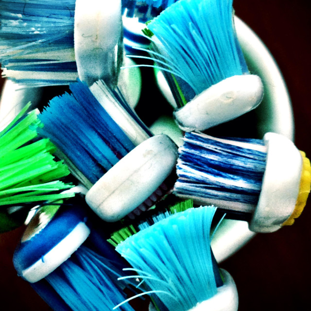 """""""Toothbrushes"""" stock image"""