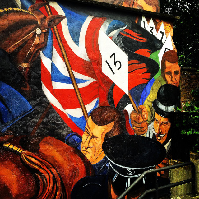"""Street Art, Shadwell, London"" stock image"