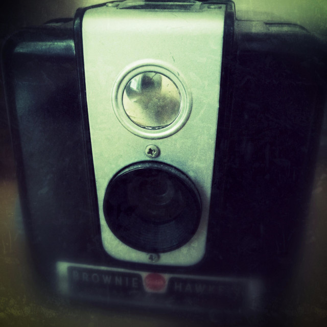 """""""Old camera"""" stock image"""