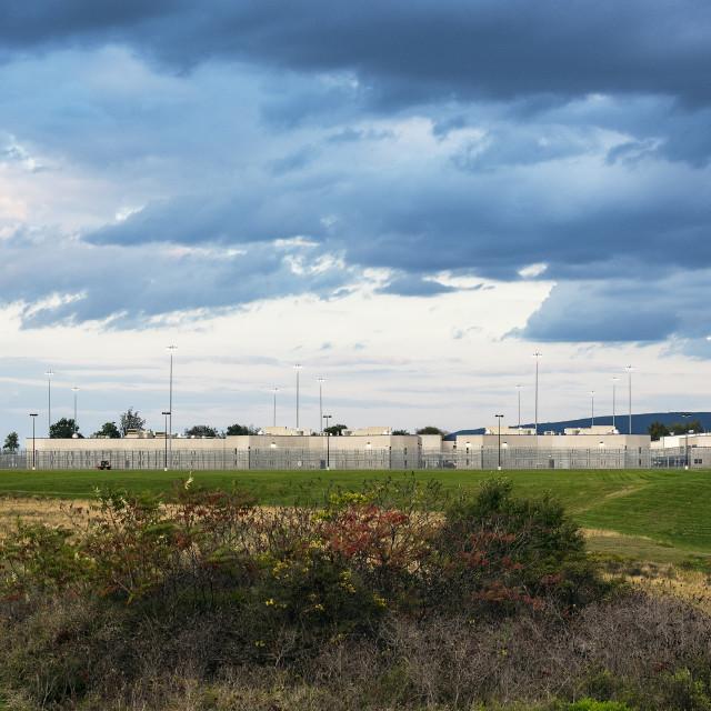 """Rockview Prison, Benner Township, Pennsylvania, USA"" stock image"