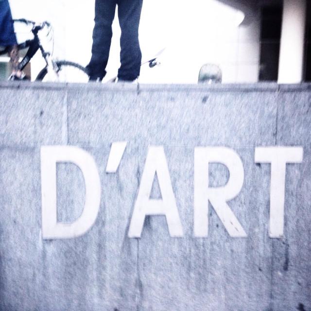"""""""Skate & Art"""" stock image"""