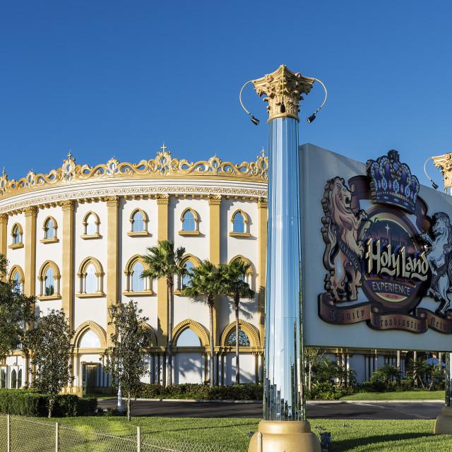 """The HolyLand Experience Christian theme park, Orlando, Florida, USA"" stock image"