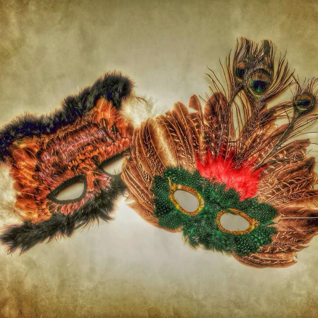 """Mardi Gras Masks"" stock image"