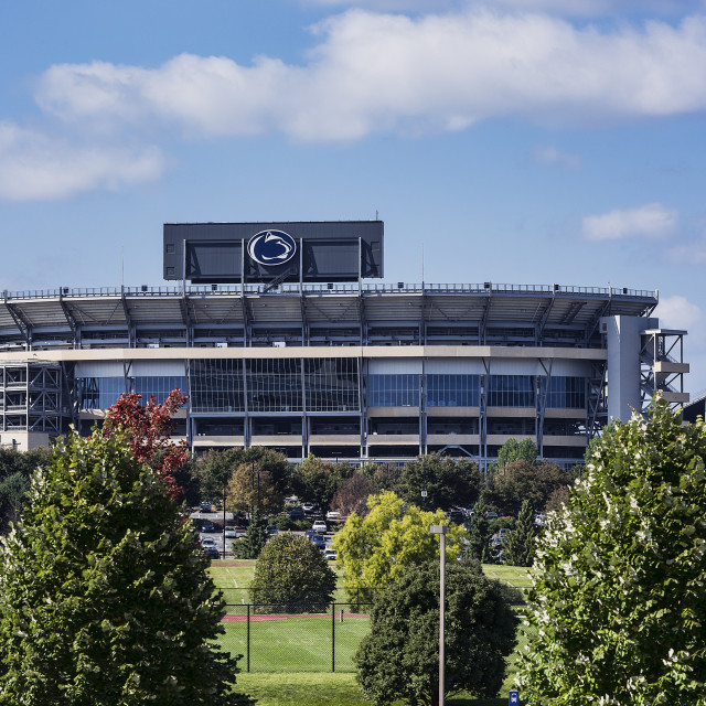 """""""Beaver Stadium, home of the Penn State Nittany Lions, State College, Pennsylvania, USA"""" stock image"""