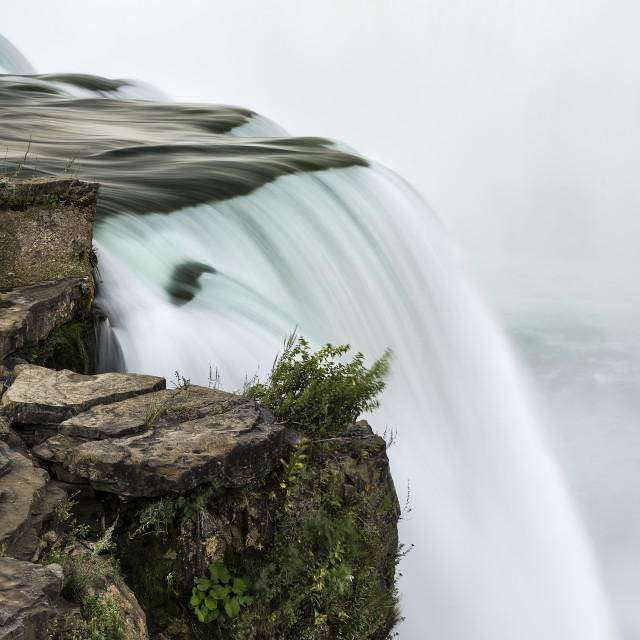 """Horseshoe Falls waterfall, Niagara Falls, New York, USA."" stock image"