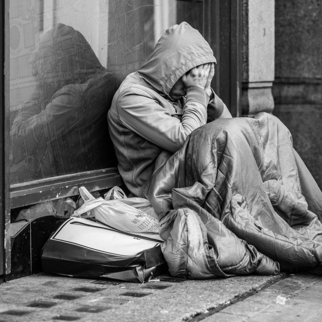 """""""Homeless"""" stock image"""