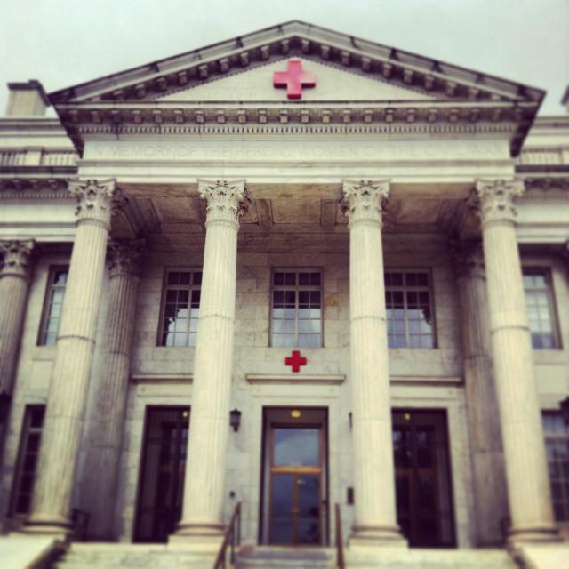 """American Red Cross, Washington DC"" stock image"