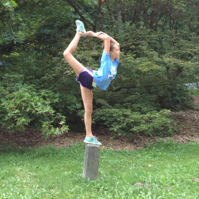 """Balance and flexibility"" stock image"